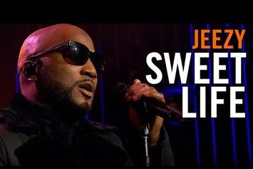 """Jeezy Performs """"Sweet Life"""" On The Late Late Show"""