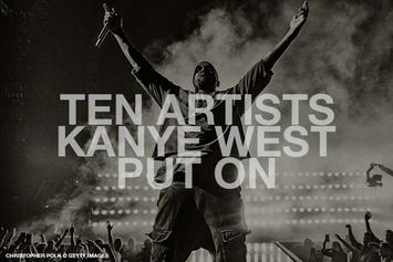 10 Artists Kanye West Put On