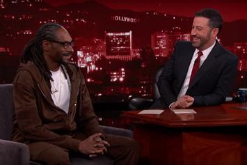 Snoop Dogg Talks About His New Marijuana Website On Jimmy Kimmel