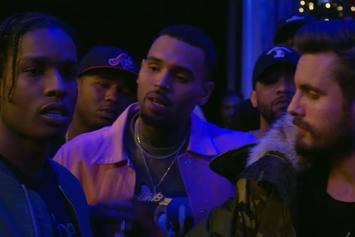 "Chris Brown ""Picture Me Rollin"" Video"