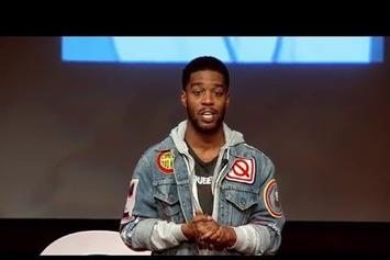 Kid Cudi Gives TED Talk At His High School