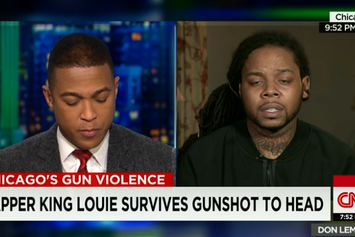 King Louie Does First Interview Since Headshot Wound