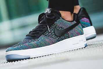 Air Force 1 Ultra Flyknit Gets Additional Colors & Low Top