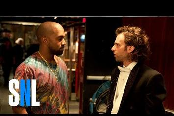 Kanye West Demolishes Opposition In SNL Rap Battle