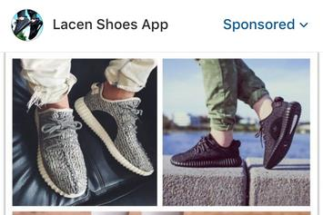 Instagram Is Showing Suspect Ads For Fake Sneakers