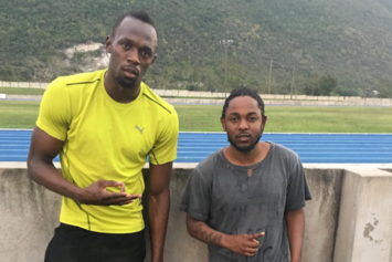 Kendrick Lamar Hangs With Usain Bolt & Assassin In Jamaica