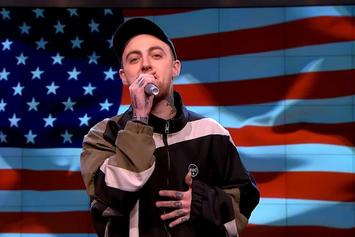 Mac Miller Eviscerates Donald Trump On The Nightly Show