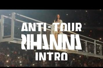 "Rihanna Kicks Off ""Anti"" Tour In Jacksonville"