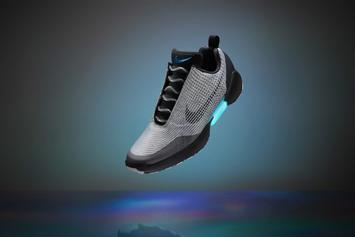 Nike Unveils The First Ever Self-Lacing Shoe
