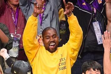 "Kanye West's ""I Feel Like Kobe"" Shirt Now Available For Purchase"