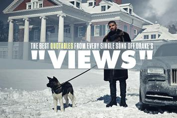 """The Best Quotables From Every Single Song Off Drake's """"VIEWS"""""""