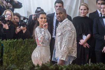 Kanye West Makes Statement By Wearing Colored Eye Contacts At 2016 Met Gala