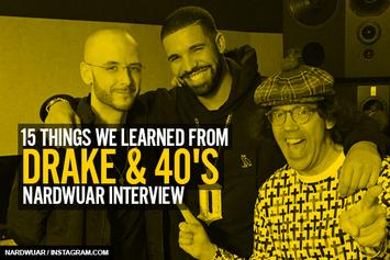 15 Things We Learned From Drake & 40's Nardwuar Interview