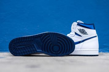 "The Air Jordan 1 OG ""Metallic Navy"" Will Return For The First Time In June"