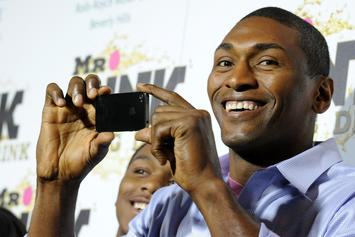 "Metta World Peace Is Allegedly Good Friends With The Guy Who Started The ""Malice At The Palace"""