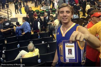 Meet The Warriors Fan Who Used A Fake Press Pass To Sneak Into Game 7 Of The NBA Finals