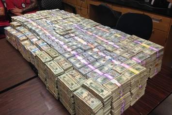 A Record $24 Million In Cash Seized During Raid Of A Miami Weed Trafficker's Home