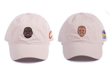 "Adidas Is Releasing A Collection Of NBA Caricature ""Dad Hats"""