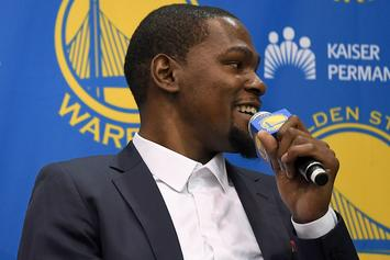 Oklahoma City Store Selling Kevin Durant Jerseys For Less Than 50 Cents