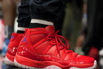 Chris Paul Debuted A Crazy Clippers Inspired Air Jordan 11