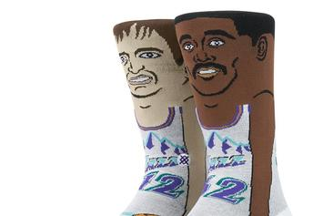"Stance Socks Launches An Incredible ""NBA Cartoon"" Collection"