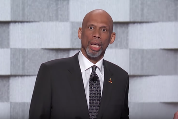 Kareem Abdul-Jabbar Posterized Donald Trump At The DNC