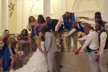 "Steelers' DeAngelo Williams Had A ""Walking Dead"" Themed Wedding"