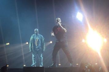 Kanye West Joins Drake For Night 2 At OVO Fest; Teases Joint Album
