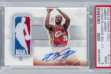 How Much Is A LeBron James Rookie Card Worth?