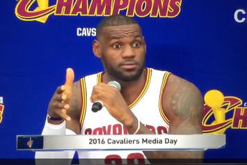 "LeBron James On Police Shootings: ""I'm Scared For My Son If He Gets Pulled Over."""