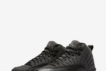 """Wool"" Air Jordan 12s Make Their Retail Debut Tomorrow"