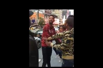 PnB Rock Almost Fights Prankster For Scaring His Daughter