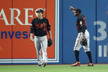 Toronto Police Investigating Blue Jays Fan Who Threw Beer At Orioles Outfielder