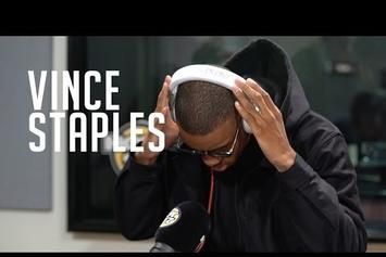 Vince Staples Shares An Exhilarating Freestyle On Funk Flex