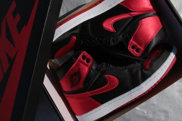 "Jordan Brand Debuts ""Satin"" Air Jordan 1 At NYC Pop-Up Shop"