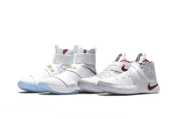 "Nike Releasing Kyrie x LeBron ""Game 6"" Championship Pack Today"