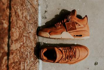 "Release Reminder: Premium ""Ginger"" Air Jordan 4 Hits Retailers Tomorrow"
