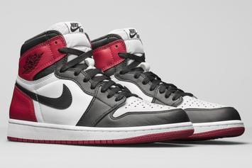 """Black Toe"" Air Jordan 1 Makes Its Return To Retailers Tomorrow"