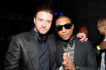 Justin Timberlake & Pharrell Have 6 Songs In The Bank