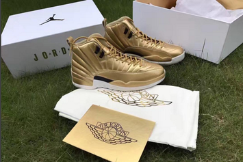 "Pinnacle ""Metallic Gold"" Air Jordan 12s Rumored To Release"