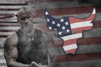 "Dwayne ""The Rock"" Johnson And Under Armour Launch ""UA Freedom"" Collection"