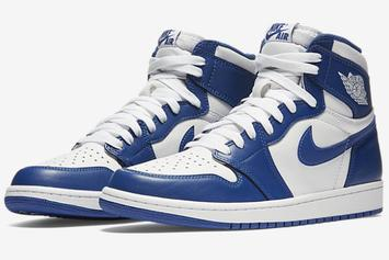 """Storm Blue"" Air Jordan 1 To Release Next Week"