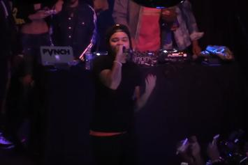 """Watch Young M.A. Perform """"OOOUUU"""", """"Quiet Storm"""" & More For The Boiler Room In NYC"""
