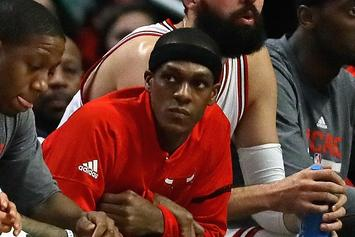 The Chicago Bulls Had A Very Awkward Rajon Rondo Bobblehead Night Yesterday