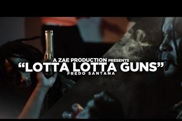 "Fredo Santana ""Lotta Lotta Guns"" Video"