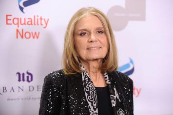 "Gloria Steinem Quotes Drake's ""Back To Back"" In Women's March Speech"