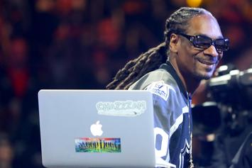 """Snoop Dogg Played """"The Next Episode"""" On TV Uncensored At NHL All-Star Event"""