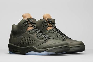 "This ""Take Flight"" Air Jordan 5 Will Reportedly Retail For $400"