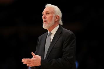 """Greg Popovich Says America's Treatment Of Black People Is """"Our National Sin"""""""