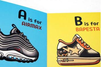 New Children's Book Teaches The ABCs Using Sneakers